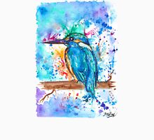 KINGFISHER - Watercolor bird painting - artwork by Jonny2may Tshirts + More! Unisex T-Shirt