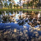 Sunset Reflections by Luke Griffin