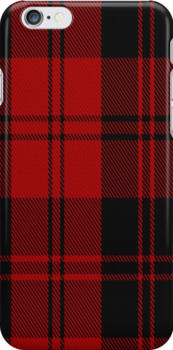 02864 Erskine (MacGregor-Hastie) Clan/Family Tartan Fabric Print Iphone Case by Detnecs2013