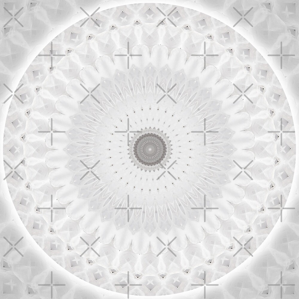 Angel Wings Mandala by haymelter