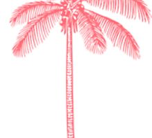 Pink Palm Tree by hblock13