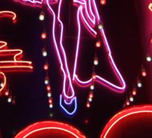 Suzie Wong's bar on Soi Cowboy (vertical) Sticker