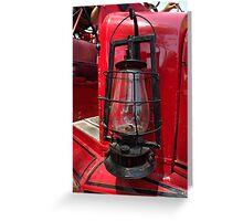 Lamp Greeting Card
