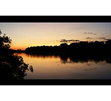 Sunset Park Sky Photographic Print