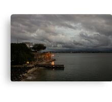 Stormy Puerto Rico  Canvas Print