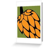 Beer Hops V Greeting Card