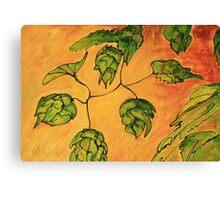 Beer Hops VII Canvas Print