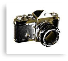 Nikon F SLR Camera Canvas Print