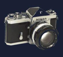 Nikon F SLR Camera Baby Tee