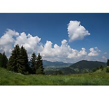 Heart in the Sky Photographic Print