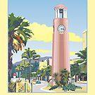 Gisborne Art Deco Clock Tower by contourcreative