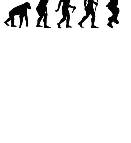 Evolution of Man - Gangnam Style Sticker
