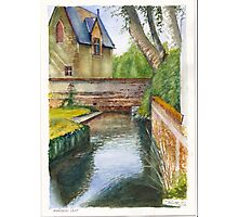 Marson Leat Loire Valley France Photographic Print