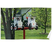 Twin Mailboxes Poster