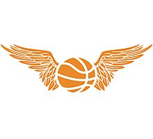 basketball wings Photographic Print