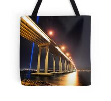 Tasman Bridge Dark MoFo spectra lights  Tote Bag