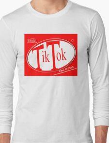 Tik Tok: Choc O'Clock Long Sleeve T-Shirt