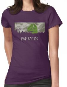 Bad Raptor Womens Fitted T-Shirt