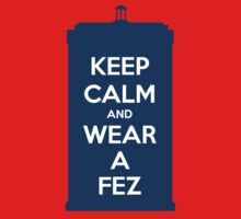 Keep Calm and Wear a Fez One Piece - Long Sleeve