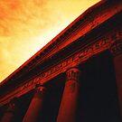 Atop the Pillars of Pantheon by Yao Liang Chua