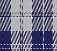 02872 Erskine Blue (Dance) Fashion Tartan Fabric Print Iphone Case by Detnecs2013