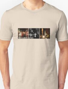 Melbourne shines at night (horizontal) T-Shirt