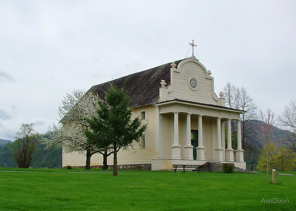 Coeur d' Alene's Old Mission by AnnDixon