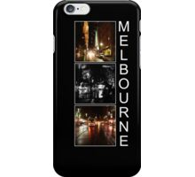 Melbourne shines at night iPhone Case/Skin