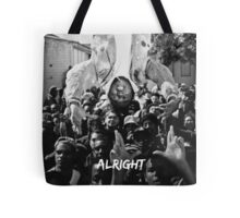 Kendrick Lamar - Alright (Music Video) Tote Bag