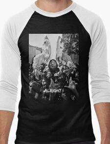 Kendrick Lamar - Alright (Music Video) Men's Baseball ¾ T-Shirt
