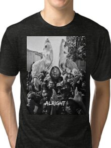 Kendrick Lamar - Alright (Music Video) Tri-blend T-Shirt