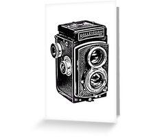 Rolleicord Twin Reflex Camera Greeting Card