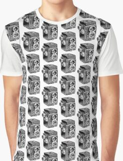 Rolleicord Twin Reflex Camera Graphic T-Shirt