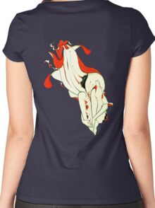 Waterbound- alternate background Women's Fitted Scoop T-Shirt