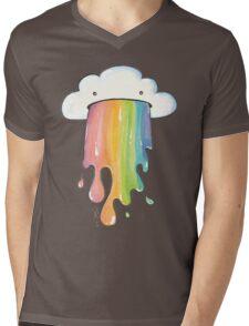 Cloud Vomit Mens V-Neck T-Shirt