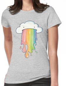 Cloud Vomit Womens Fitted T-Shirt