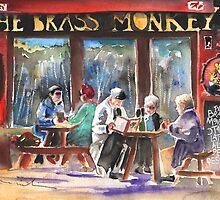 Ireland - The Brass Monkey in Howth by Goodaboom