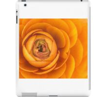Orange 01 - Ranunculus / buttercup iPad Case/Skin