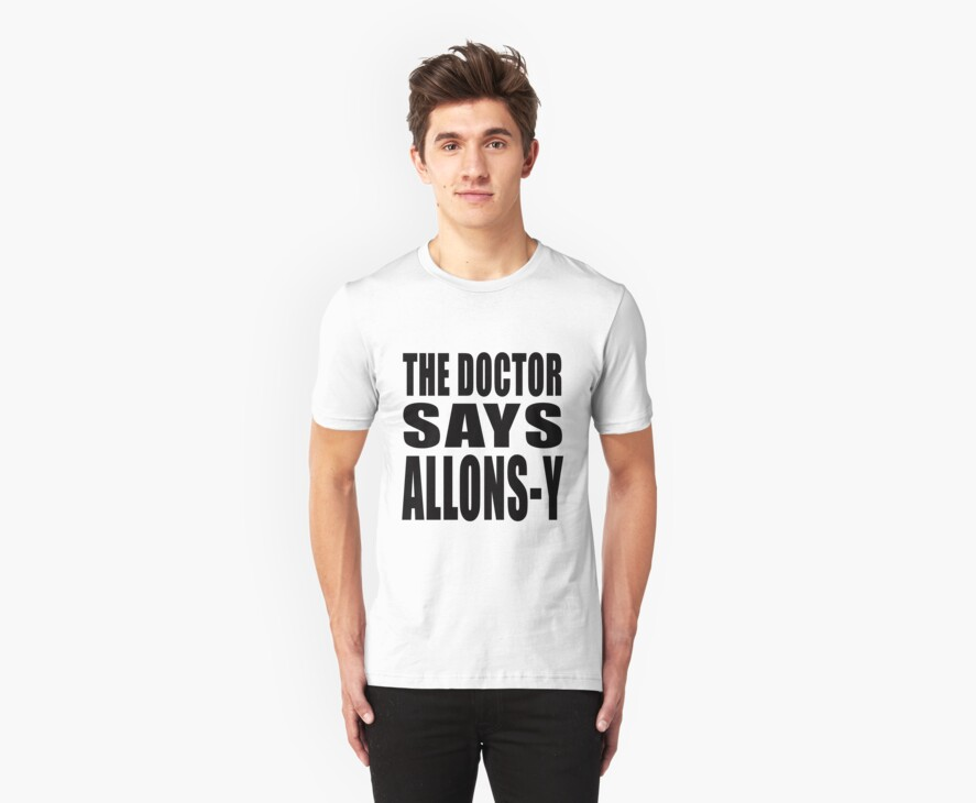 The Doctor says Allons-y! by MikesStarArt