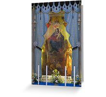 Our Lady of Mount Carmel Greeting Card