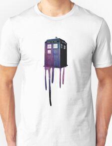 Bleeding Tardis Unisex T-Shirt