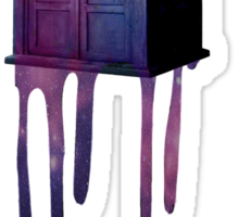 Bleeding Tardis Sticker
