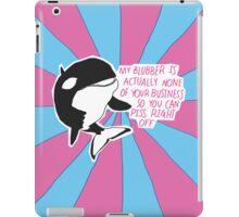 Sassy Whale iPad Case/Skin