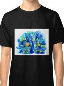 Peacock in Full Bloom Classic T-Shirt