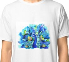 Peacock in Full Bloom Classic T-Shirt