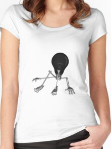 NoBot-E Women's Fitted Scoop T-Shirt