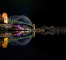 Sydney Harbour Bridge by fernblacker
