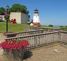 Vermilion Replica Lighthouse by Jack Ryan