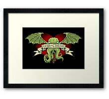 Flesh For Cthulhu Framed Print