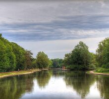 The lake in St Albans by Mark Thompson